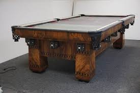 how to move a pool table across the room antique pool tables antique billiard tables blatt billiards