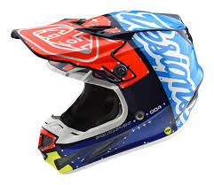 ufo motocross helmet 2018 troy lee se4 composite factory helmet navy