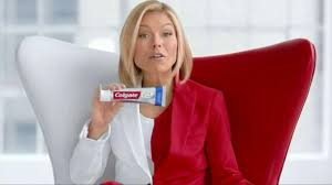 colgate commercial actress colgate total tv commercial healthier whiter featuring kelly
