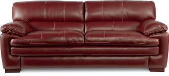 pillow arm leather sofa casual stationary sofa with pillow top arms and seat by la z boy
