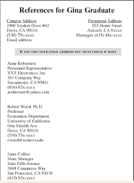example references for resume