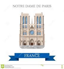 paris france travel landmarks stock vector image 55990443