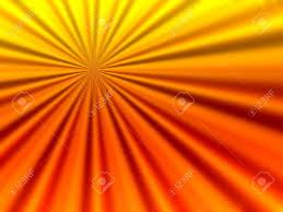 design of emerging rays in bright orange color background with