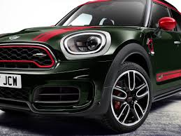 pink mini cooper mini spawns a john cooper works countryman performance crossover