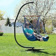 Tree Hanging Hammock Chair Sunnydaze Hanging Hammock Chair With Footrest U2013 26 U201d W