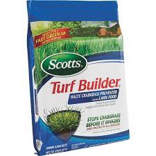 Deep Silo Builder Scotts Turf Builder Lawn Fertilizer With Halts Crabgrass Preventer
