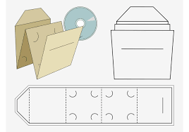 free jewel case template vector graphics of a printable template for a cd case double cd