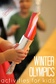 toddler approved winter olympic activities for kids