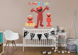 elmo wall decal shop fathead for sesame street decor