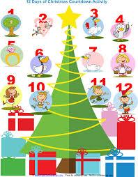 christmas countdown calendar christmas advent calendars countdown clock angel tree