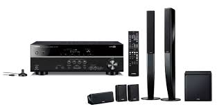 yamaha 5 1 home theater system yamaha rx v375 u0026 ns pa40 5 1 channel 600w 3d home cinema receiver