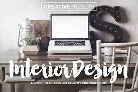 interiordesign 30 lightroom presets actions creative market
