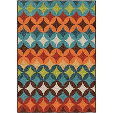 Ikat Outdoor Rug by 1840 5x8 Orian Rugs 1840 5x8 Indoor Outdoor Southwest Links Ikat