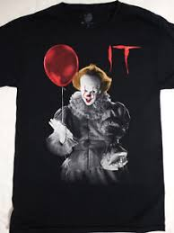 clown balloon l it the pennywise the clown holding balloon t shirt ebay