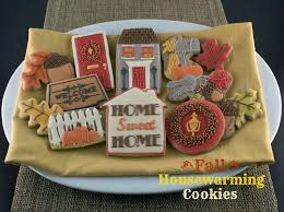 housewarming cookies fall housewarming cookies cookie connection