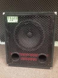 8 ohm bass speaker cabinet vintage trace elliot 1518 red stripe 1x15 200w 8 ohm bass speaker