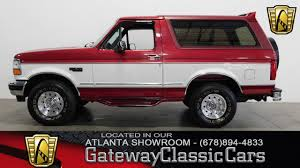 1994 ford bronco 4x4 gateway classic cars of atlanta 464 youtube