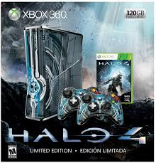 amazon com xbox 360 limited edition halo 4 bundle video games