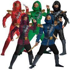 kids ninja costume ebay