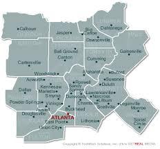 map of atlanta metro area atlanta homes atlanta map search atlanta homes for sale