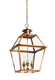 Indoor Lantern Pendant Light by Ch 11 Hanging Light Copper Lantern Gas And Electric Lighting