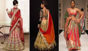 Fish Style Saree Draping How To Wear Lehenga To Look Slim