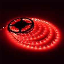 neon mart led lights red flexible led light strip 5m glowy