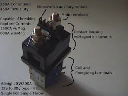 working of contactors electronic circuits and diagram