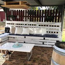 Pallet Patio Furniture by Diy Pallet Patio Furniture And Decoration