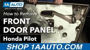 honda pilot parts 2007 how to remove install front door panel 2007 honda pilot