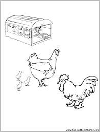 little red hen coloring sheets