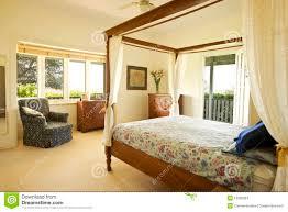 cozy italian country style bedroom stock photo image 48767814