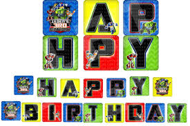 transformers rescue bots party supplies rescue bots banner rescue bots happy birthday sign rescue