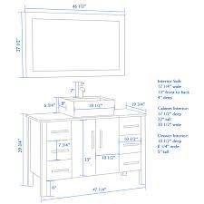 Kitchen Cabinets Height From Floor Kitchen Cabinet Height Vs Vintage Standard Bathroom Vanity Height
