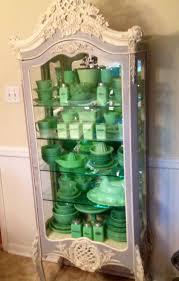 Repurposed Kitchen Cabinets Curio Cabinet Curio Cabinets Green Kitchen Cabinet Repurposed