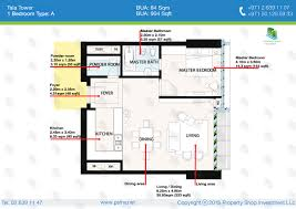 1 bedroom apartment floor plans 1 bedroom apartment type a bua 904 sqft unit 03 floor plan tala
