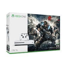 xbox one consoles and bundles xbox xbox one s gears of war 4 1 tb bundle walmart com