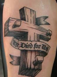 wood cross 3d wooden cross tattoos related keywords