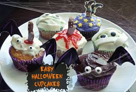 cute and easy halloween cupcakes half crazy mama