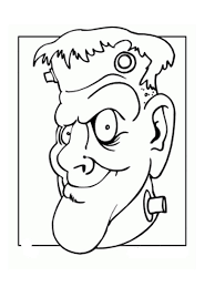 halloween coloring pages frankenstein coloring pages