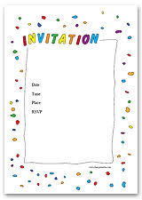 free printable invitations and invitation templates at free
