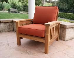 mission style teak sofa set