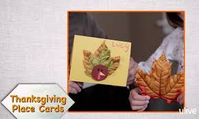 turkey shaped thanksgiving place cards make and takes