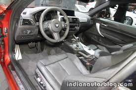 2018 bmw 2 series coupe lci interior at the iaa 2017 indian