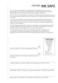 concord si e auto manual de montagem e utilização cadeira auto concord air safe