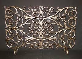 custom wrought iron fireplaces screens enclosures houston