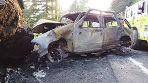 police id driver killed in fiery hwy 126 crash kval
