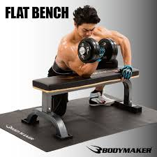 Flat Bench Dumbbell Bodymaker Rakuten Global Market Flat Bench Ex Muscle Training