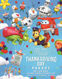 characters line up for macy s thanksgiving parade license global