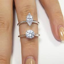 1 carat engagement rings how big is a one carat diamond ring hart s